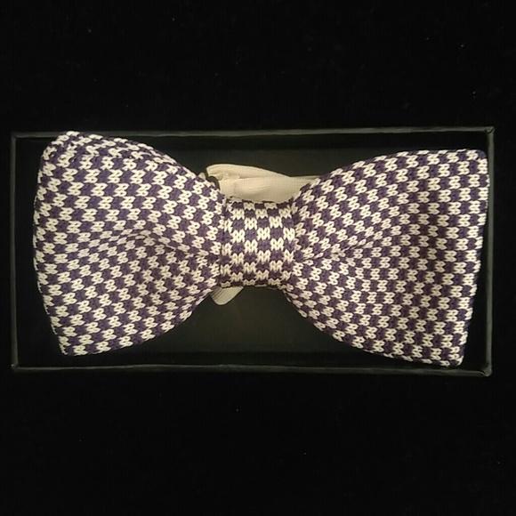 E J Samuel Accessories Mens Knit Bow Tie Only Poshmark